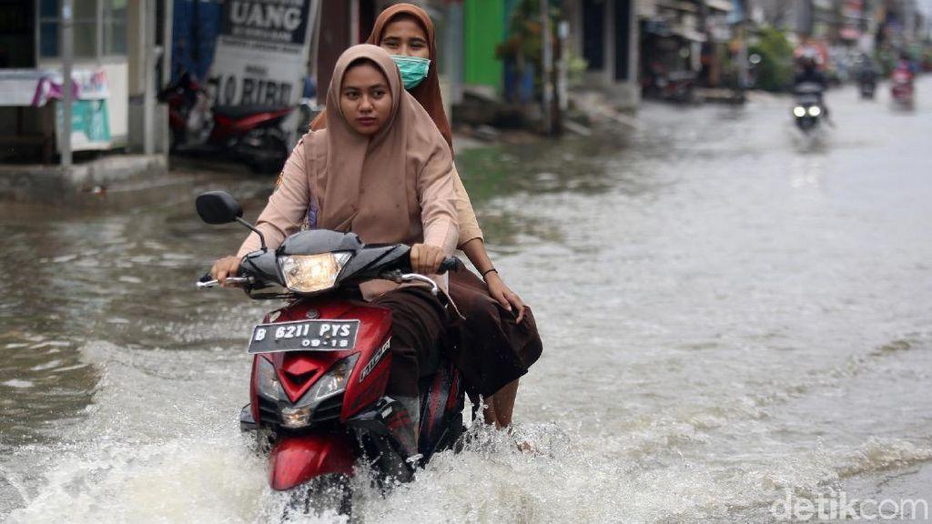 Pondok Ungu Permai Bekasi Kebanjiran Usai Diguyur Hujan Deras