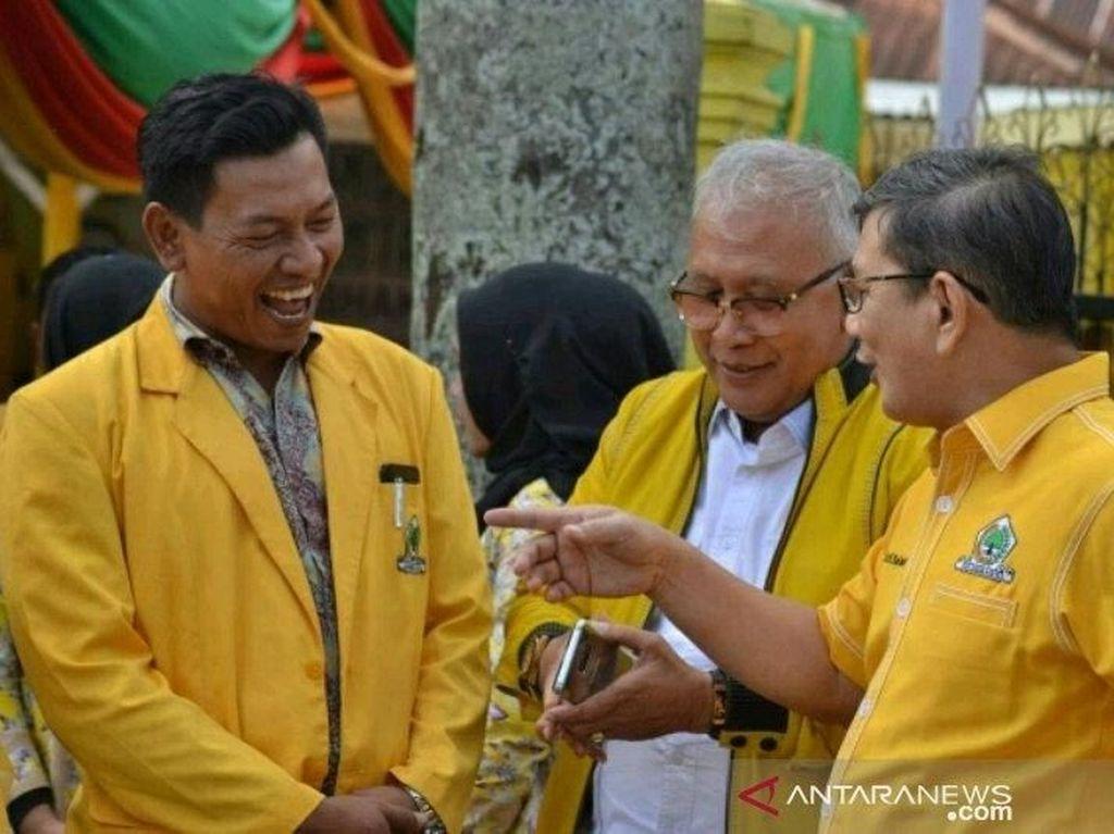 Paman Bobby Nasution Daftar Cabup Tapsel Lewat Golkar