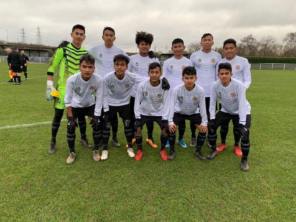Bagus Kahfi Dua Gol, Garuda Select Hantam Huddersfield 3-0