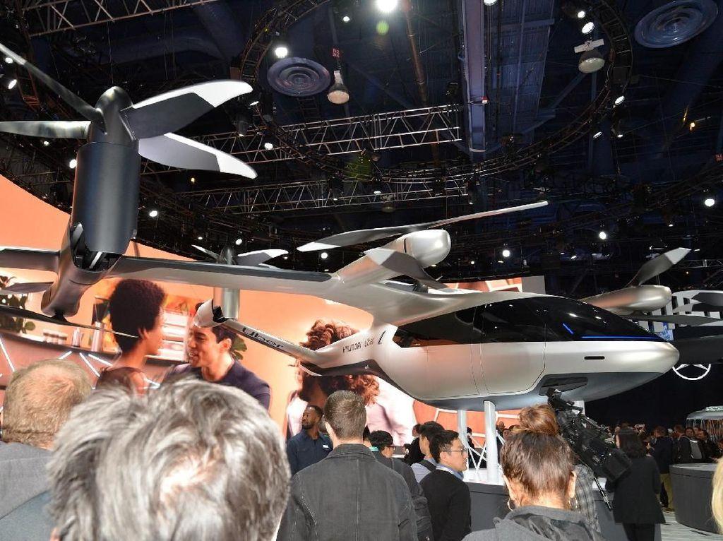 Melihat Lebih Dekat Mobil Terbang Hyundai