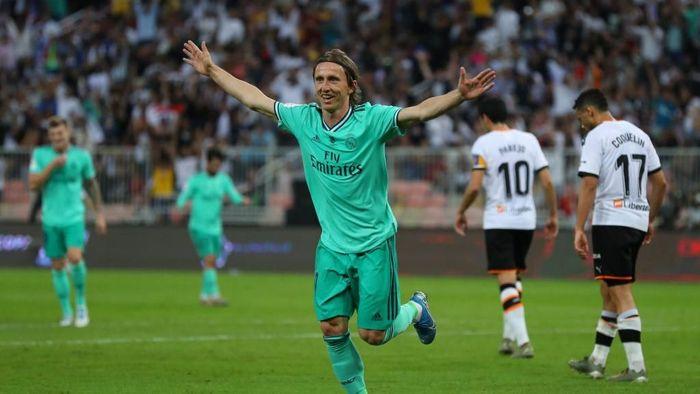 Real Madrid menang 3-1 atas Valencia dan melangkah ke final Piala Super Spanyol. (Foto: Francois Nel/Getty Images)