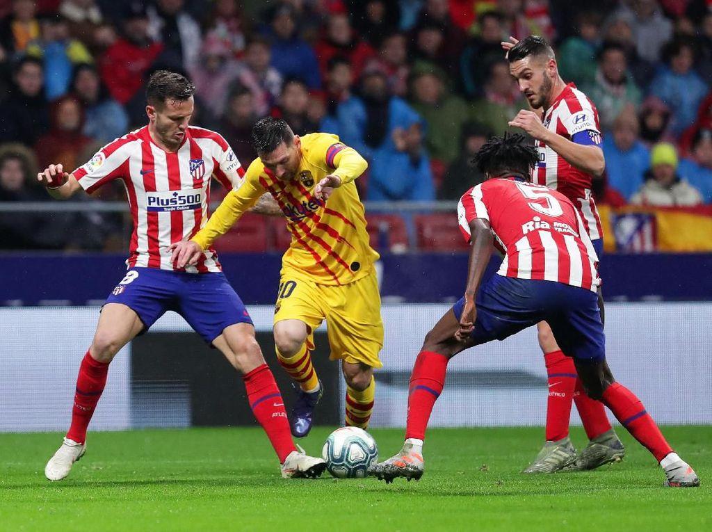 Messi Sering Jadi Penentu, Atletico Bisa Apa?
