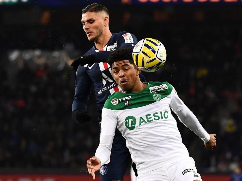PSG Hajar Saint-Etienne 6-1, Icardi Hat-trick