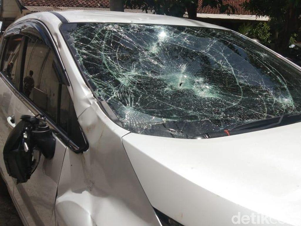Bule yang Tabrak 3 Orang di Jimbaran Bali Terluka Dilempar Botol