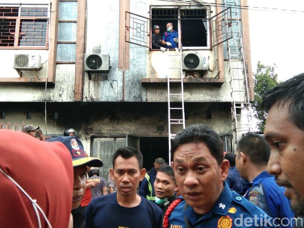 Kebakaran Besar Landa Ruko di Makassar, 5 Orang Tewas Terbakar