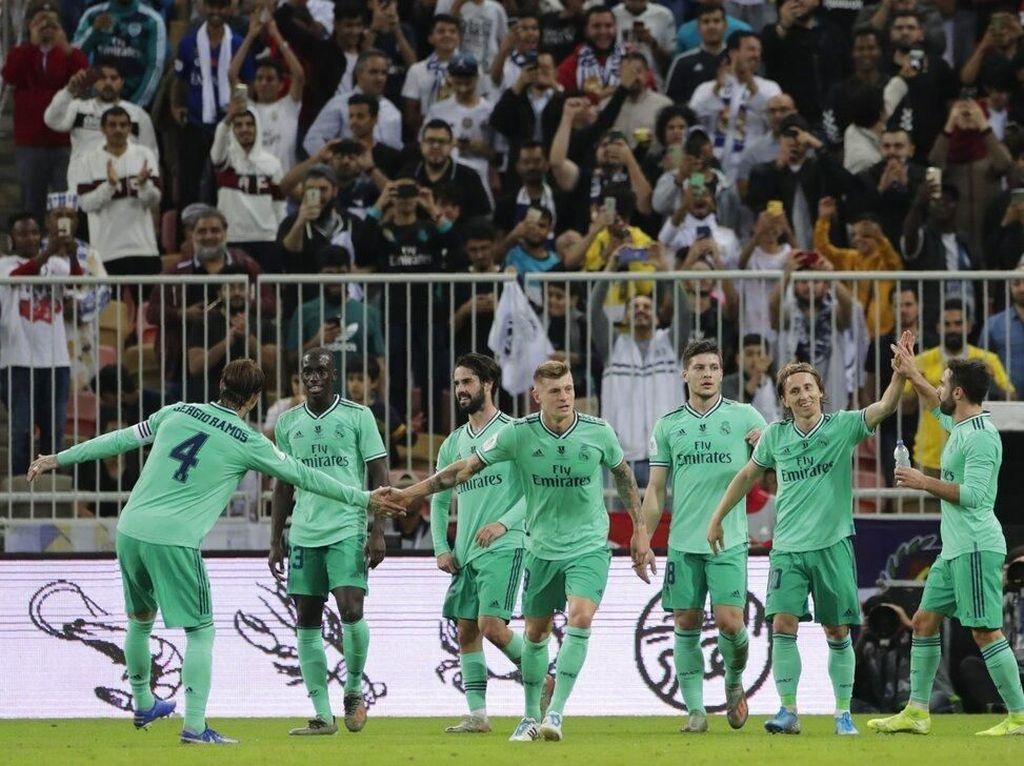 Zidane: Madrid Belum Menangi Apapun