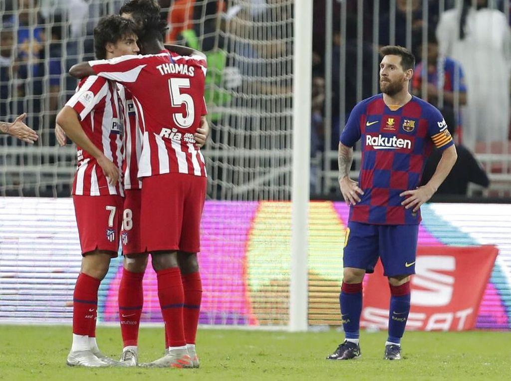 Barcelona Disingkirkan Atletico, Messi Masih Percaya Valverde