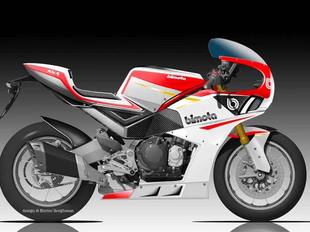 Motor Kolaborasi Kawasaki dan Bimota Ber-DNA Sport Retro