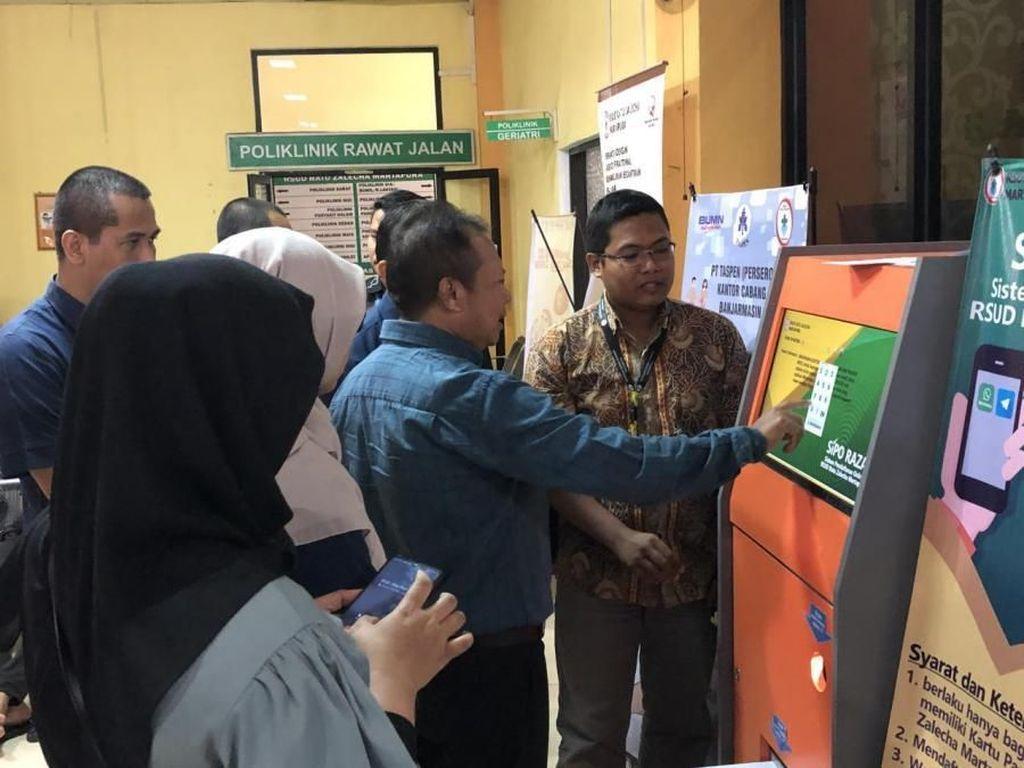BPJS Kesehatan Pastikan Kemudahan Layanan Online RS di Banjarmasin