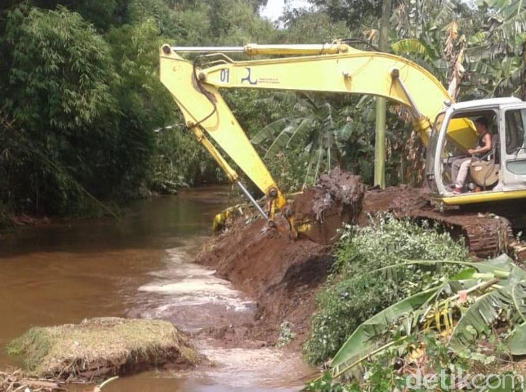 Ancaman Banjir di Depan Mata, Sungai-sungai Pasuruan Dinormalisasi