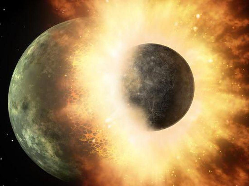 Seram, NASA Temukan Dua Planet Bertubrukan