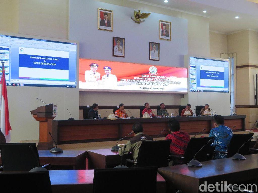 Soroti Mitigasi Bencana, Wagub Sulsel Pertanyakan Info Status Bili-Bili