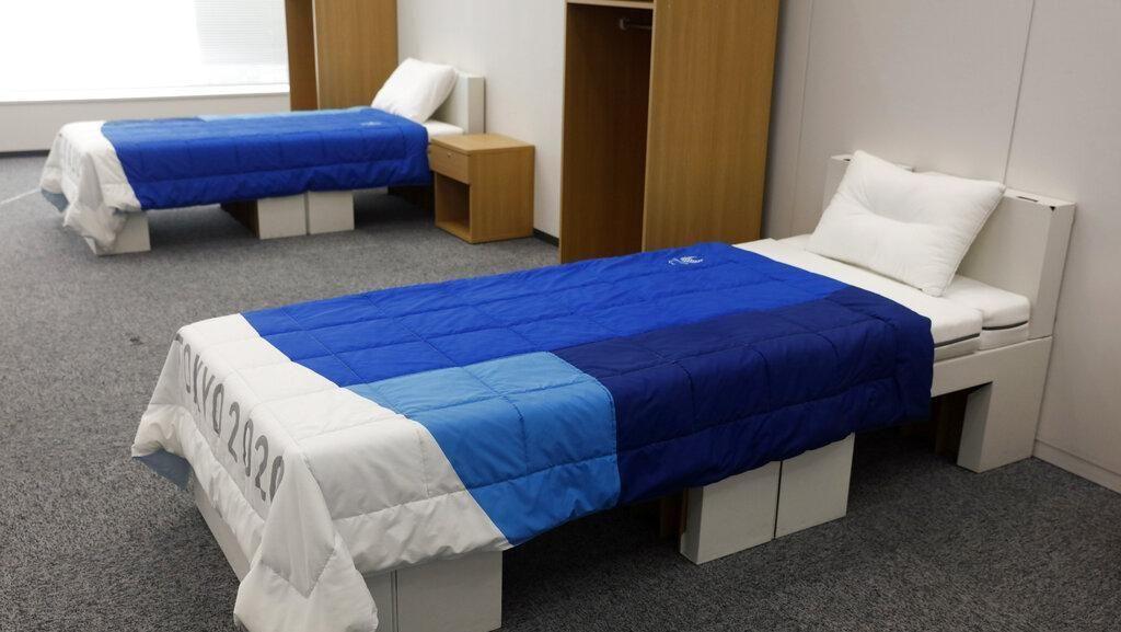 Tempat Tidur Atlet Olimpiade Tokyo Terbuat dari Kardus Daur Ulang