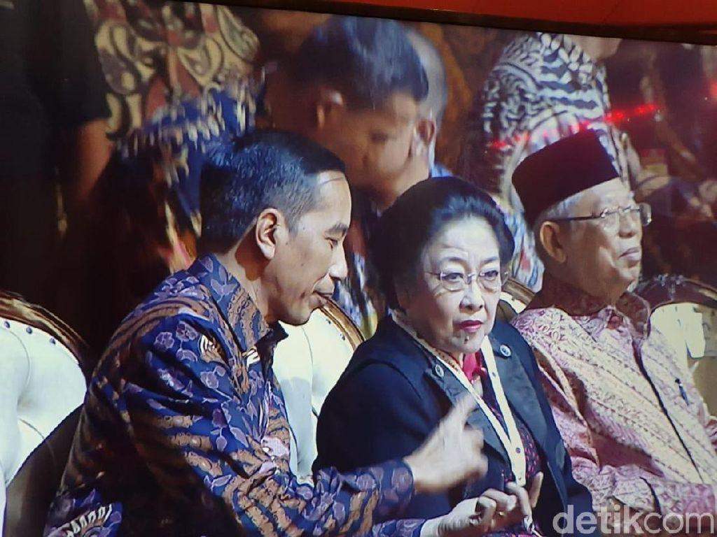 Bareng Megawati, Jokowi Hadiri HUT Ke-47 PDIP