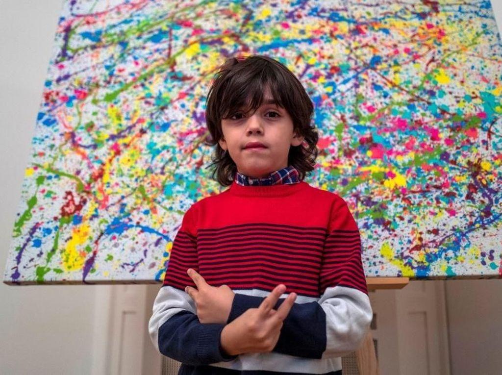 Bocah 7 Tahun dari Jerman Disebut Sebagai Picasso
