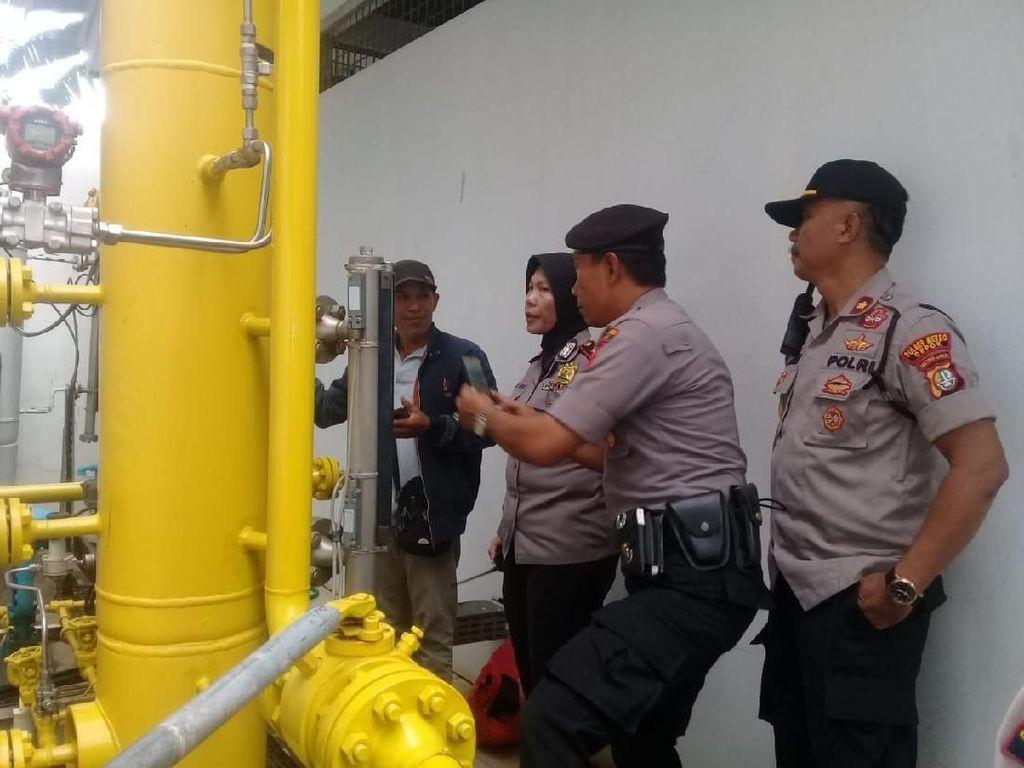 Viral Bau Gas Menyengat di Depok, Polisi: Ada Kebocoran Keran Gas Alam