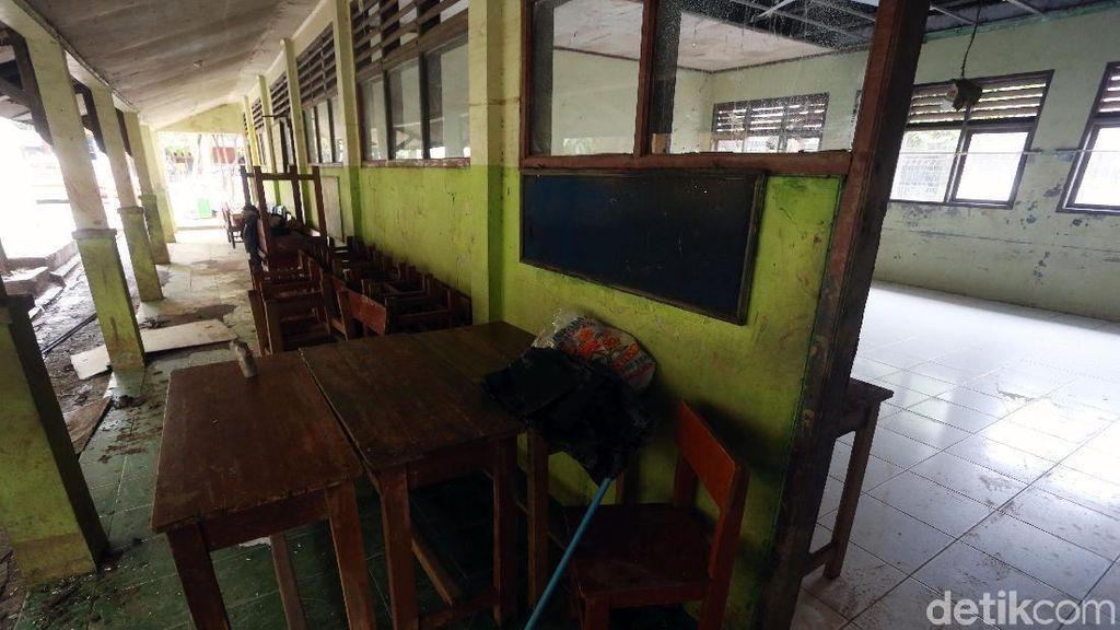 Sekolah Rusak Akibat Banjir, SDN Jati Rasa Masih Libur
