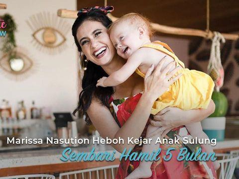 Kehamilan Pertama Bermasalah, Marissa Nasution Harus Berjuang Menyusui Anak