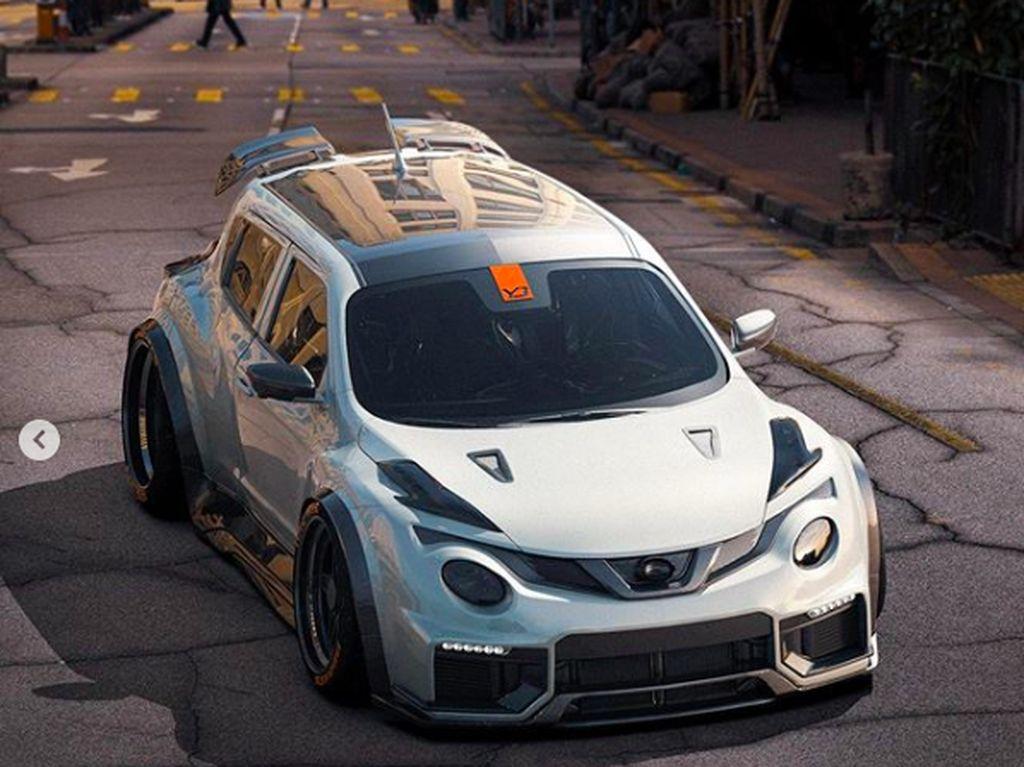 Modif Nissan Juke R Super Ceper