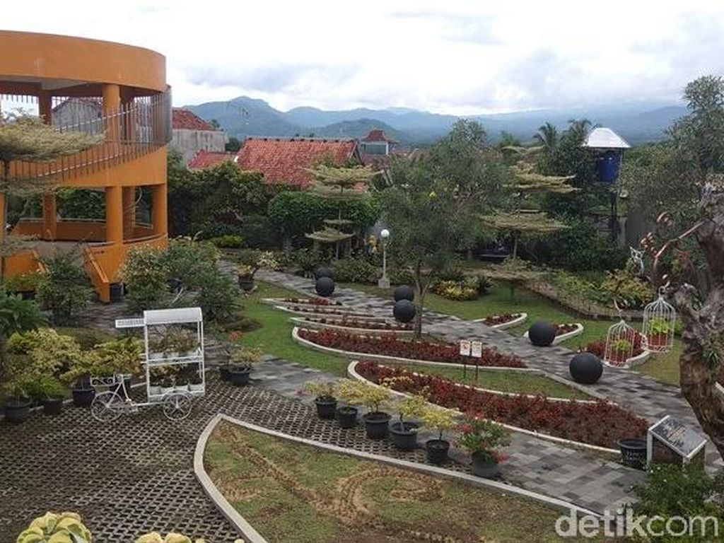 Foto: Kebun Bibit Senopati nan Instagramable di Magelang