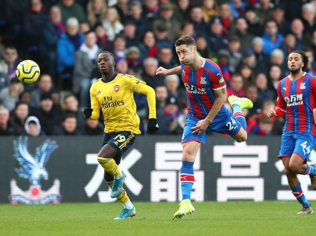 Palace Vs Arsenal: The Gunners Unggul 1-0 di Babak Pertama