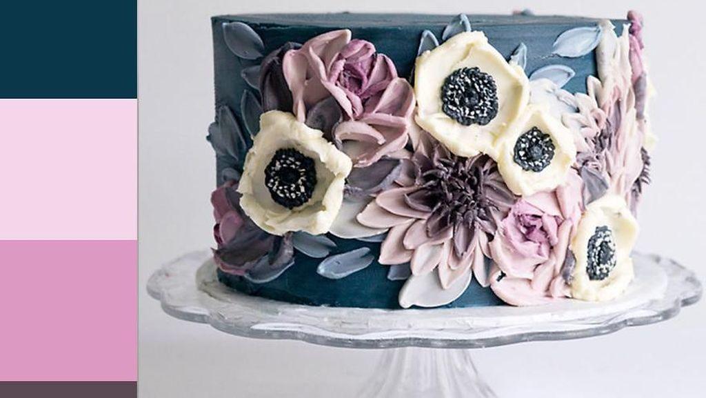 Mawar hingga Daisy, Ini 10 Kue Bentuk Bunga yang Cantik