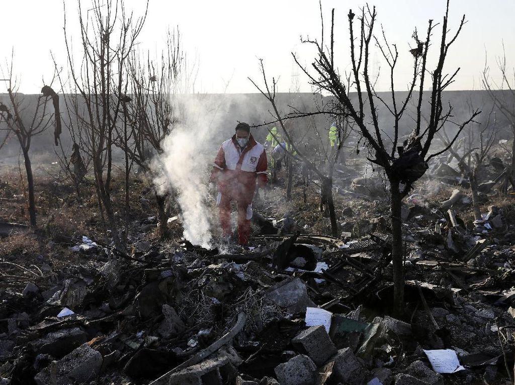 Presiden Iran Serukan Persatuan Nasional Usai Penembakan Pesawat Ukraina