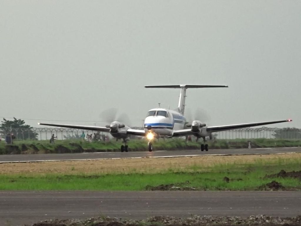 Pendaratan Perdana Mulus, Runway Bandara Blora Lulus Uji