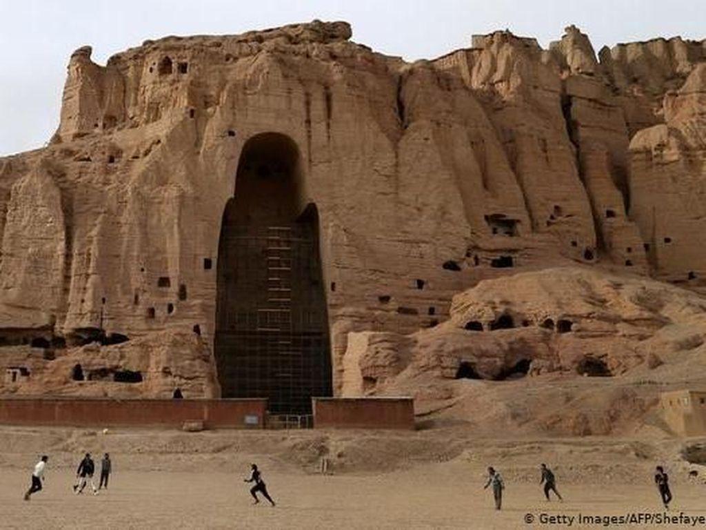 Situs Buddha Bamiyan Afghanistan Terancam Rusak oleh Perubahan Iklim