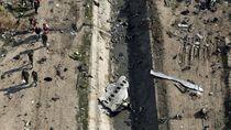 Presiden Ukraina: Iran Sejak Awal Tahu Pesawat Kami Kena Rudal