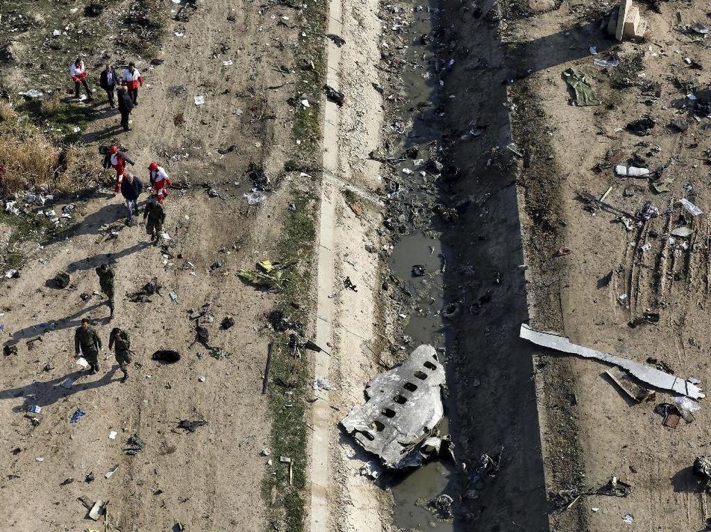 Iran Dakwa 10 Pejabat terkait Penembakan Pesawat Penumpang Ukraina