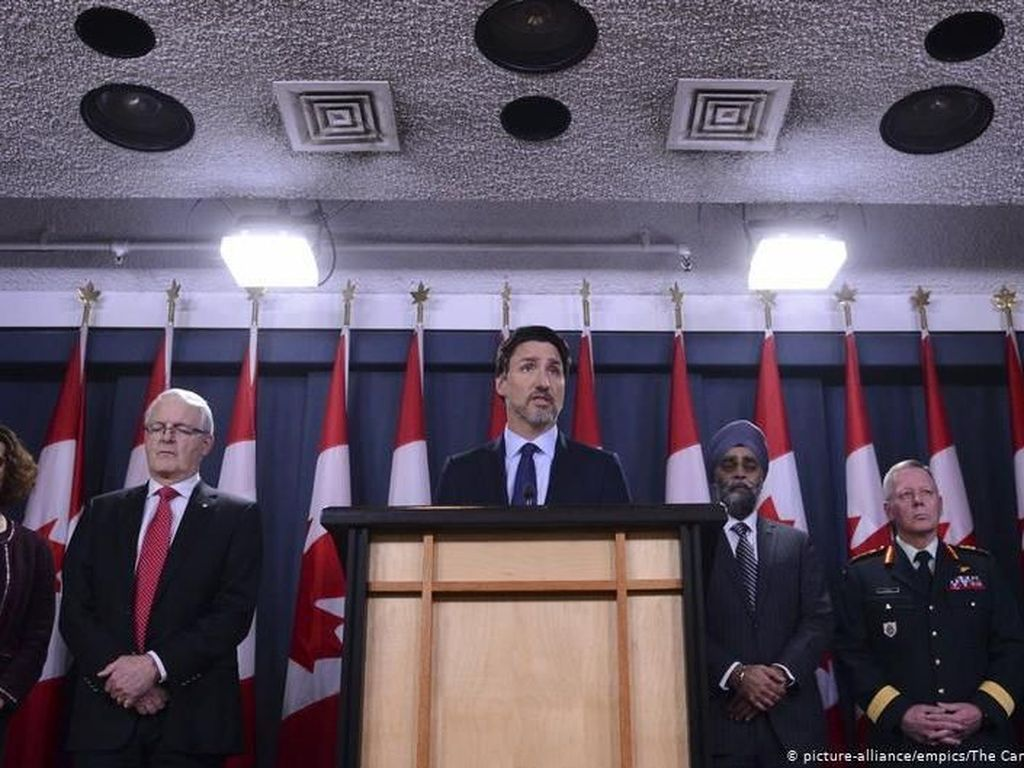 PM Kanada Punya Bukti Rudal Iran Penyebab Jatuhnya Pesawat Ukraina