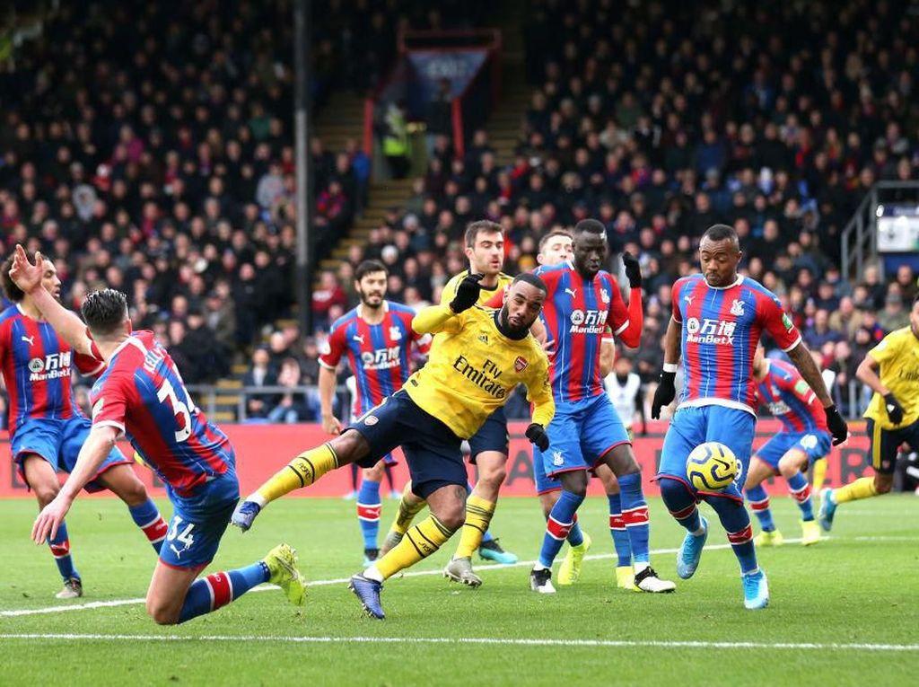 Arsenal Diimbangi Palace karena Goyah dan Kehilangan Kendali Permainan