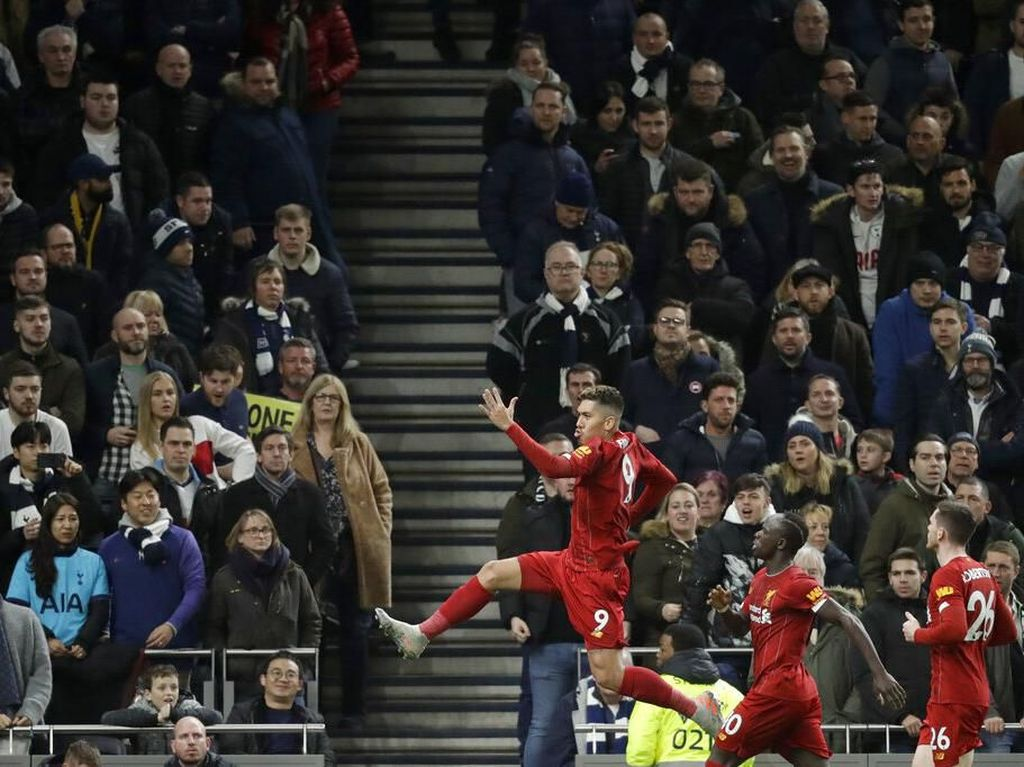 Tottenham Vs Liverpool: Gol Firmino Menangkan Si Merah 1-0