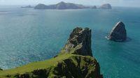 Pulau Boreray merupakan habitat berbagai satwa dan tanaman.