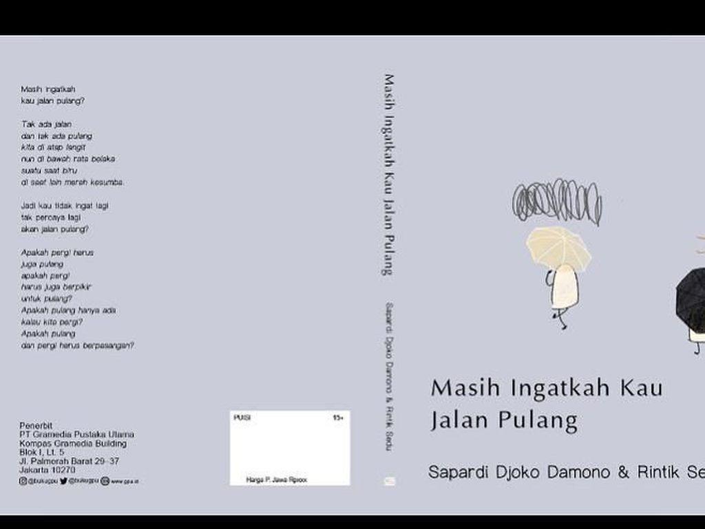 Sapardi Djoko Damono Segera Rilis Buku Puisi Kolaborasi Bareng Rintik Sedu