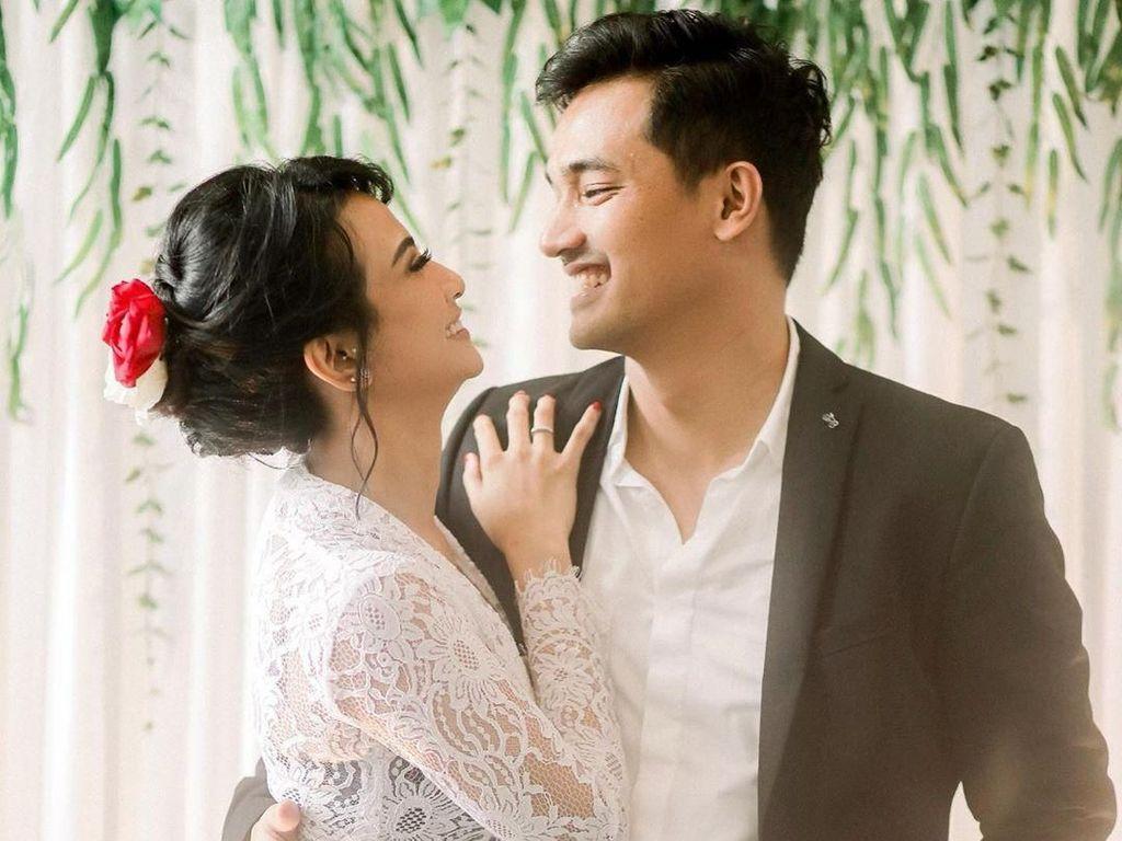 8 Momen Cantik Vanessa Angel Saat Nikah Resmi dengan Bibi Ardiansyah
