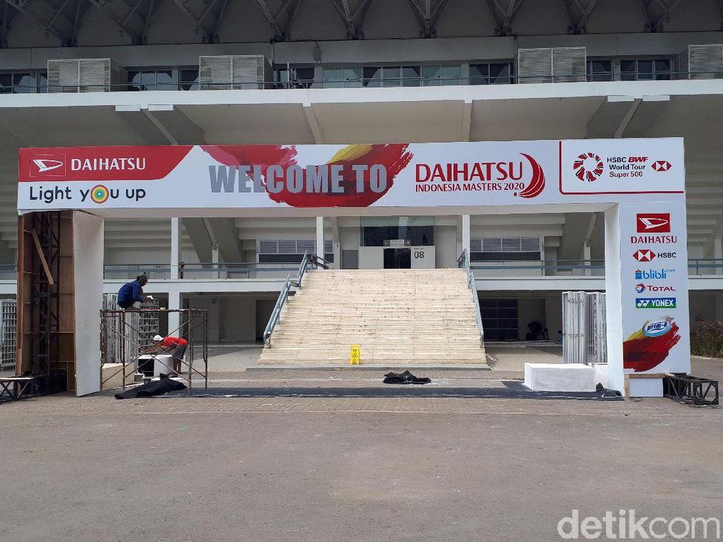Songsong Daihatsu Indonesia Masters 2020, Istora Hampir Siap 100 Persen