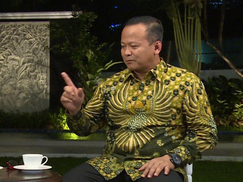 Kata Edhy Prabowo soal RI Impor Ikan dari China