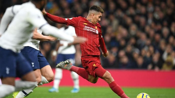 Tottenham Vs Liverpool Firmino Bawa The Reds Memimpin di Babak I