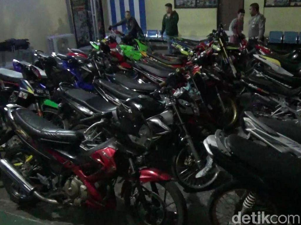 Antisipasi Balap Liar, Polisi Gelar Razia Senyap Amankan 84 Motor