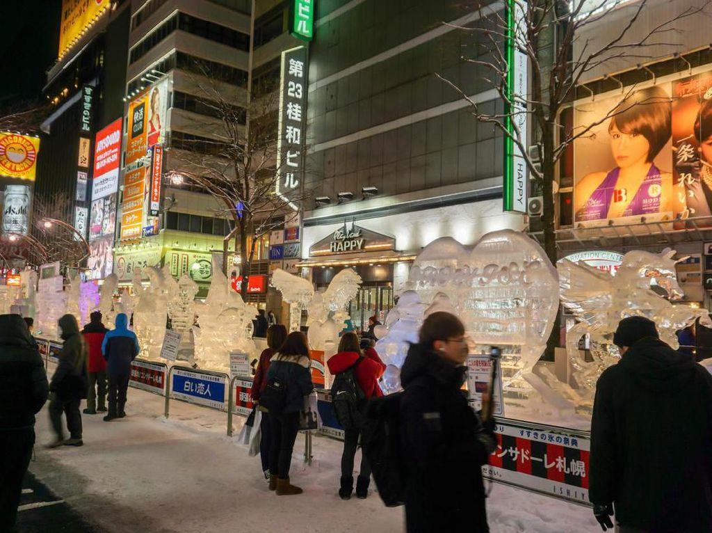 Pertama Kali dalam 70 Tahun, Festival Salju Sapporo Digelar Online