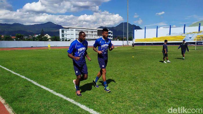 Wander Luiz dan Joel Vnicius dua pemain Brasil yang dijajal Persib bandung, (Foto: Dony Indra Ramadhan/Detikcom)