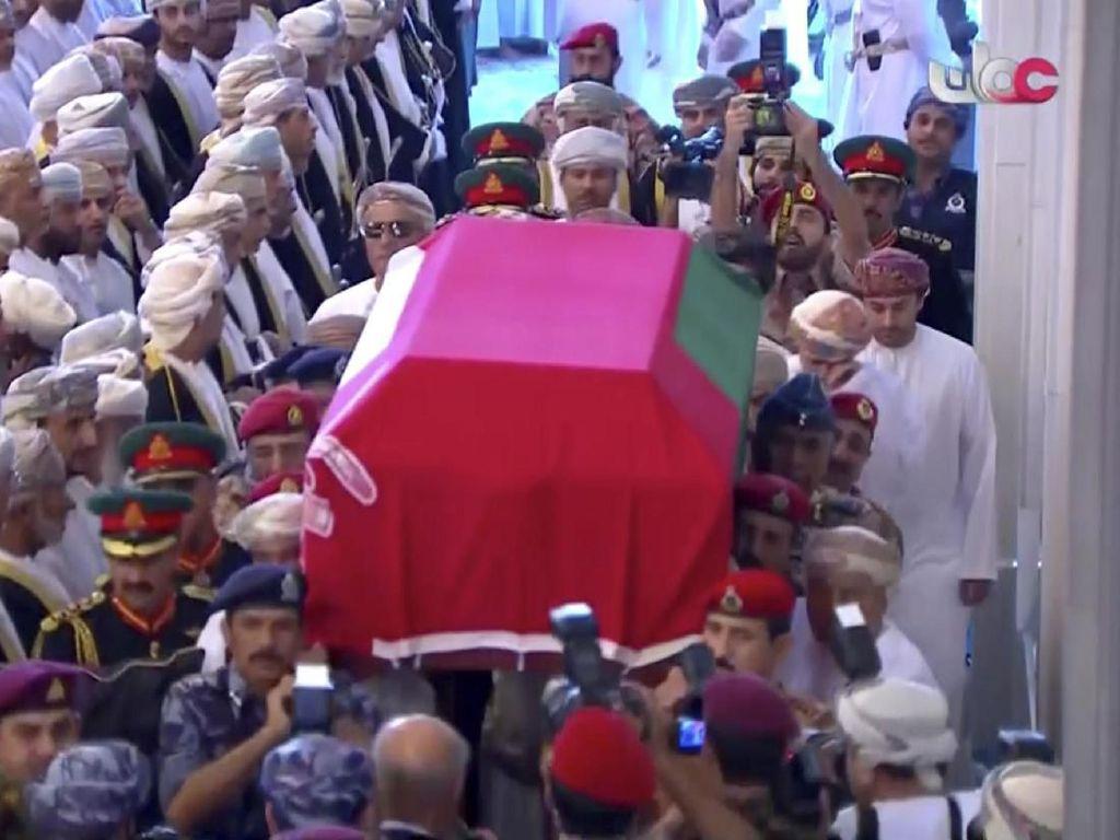 Video Prosesi Pemakaman Sultan Qaboos