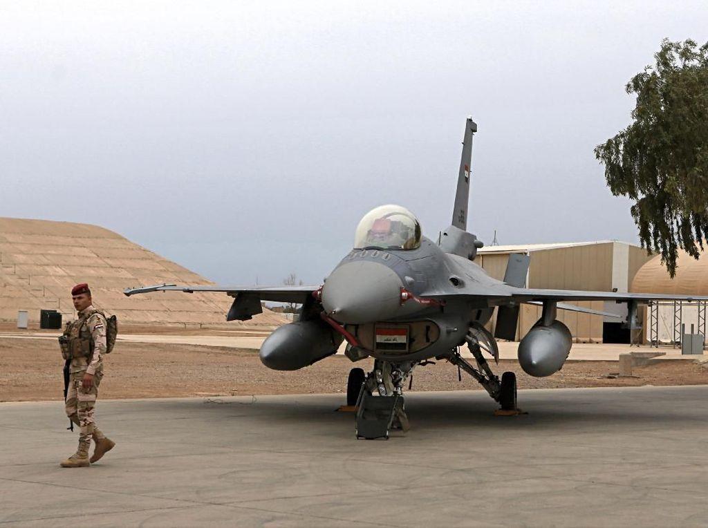 3 Roket Hantam Pangkalan Militer AS di Baghdad