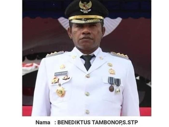 Bupati Boven Digoel, Papua, Benediktus Tambonop (Foto: Dok. Istimewa)