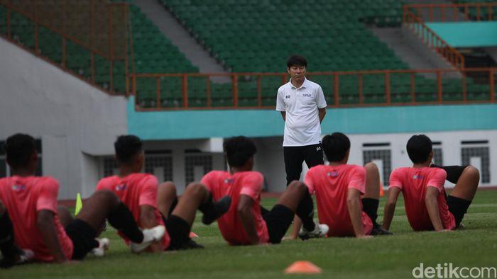 Pelatih Timnas Indonesia U-19, Shin Tae-yong.