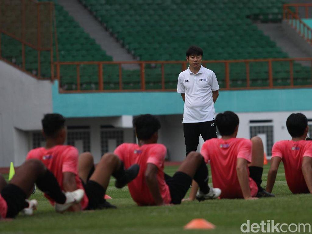 Shin Tae-yong Ingin Timnas U-19 Main Praktis