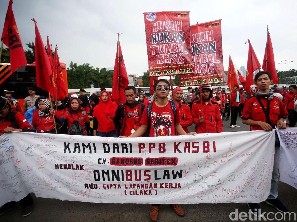 Video KASBI Tepis Ucapan Jokowi soal Demo Omnibus Law Dipicu Hoax!