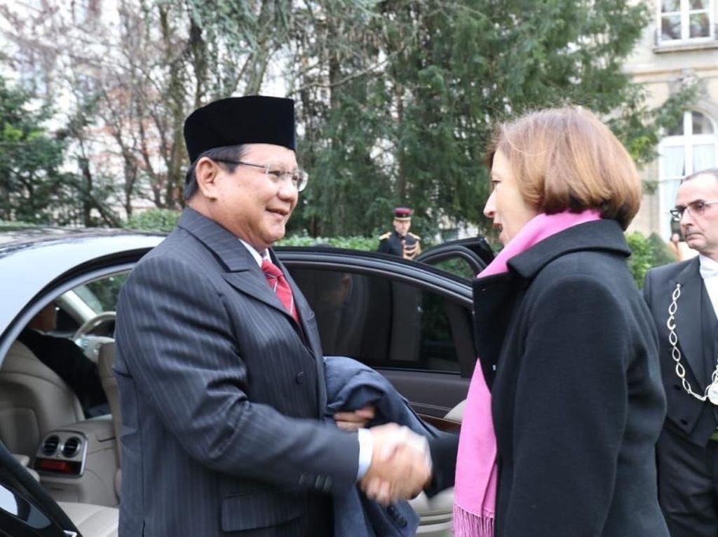 Teken Kerja Sama, Prabowo Incar Teknologi Alutsista Prancis